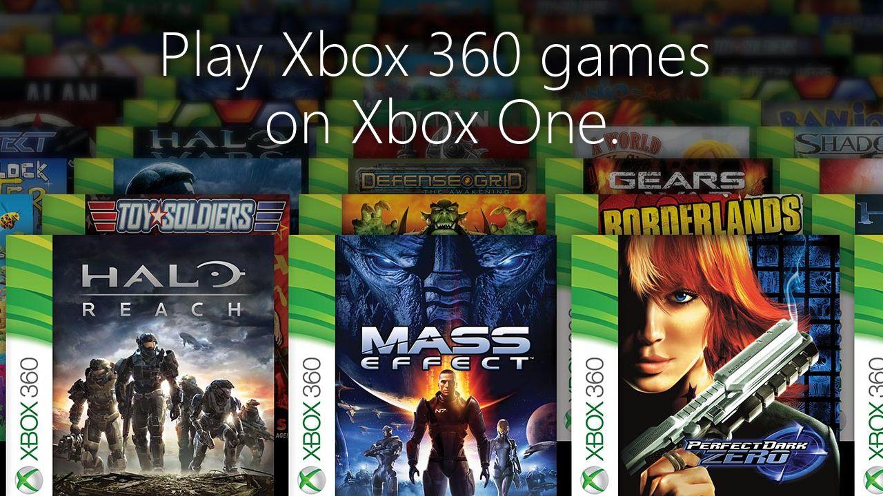 Xbox One: annunciati i primi 100 giochi retrocompatibili