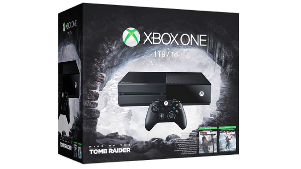 Xbox One: annunciato il bundle con Rise of the Tomb Raider