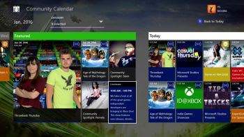 Xbox One: disponibile l'app gratuita Community Calendar
