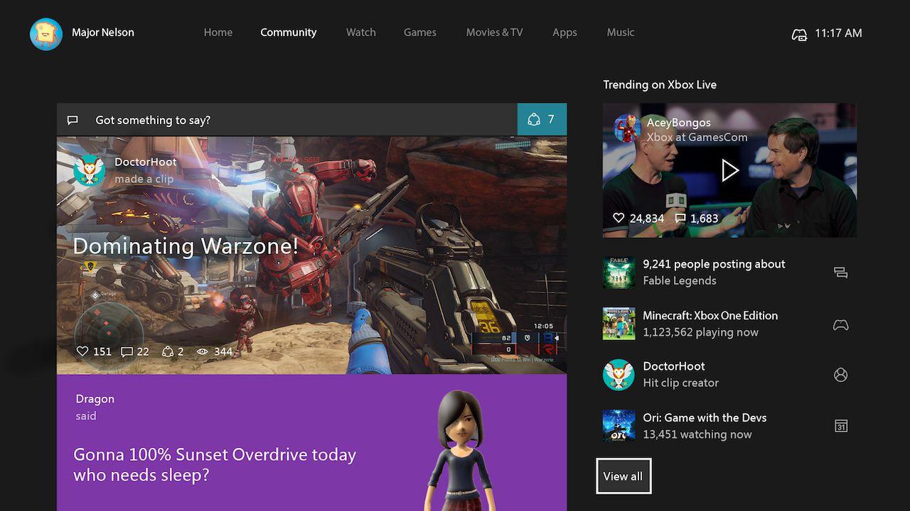 Xbox One: entro poche ore tutti gli iscritti al Programma Preview riceveranno la NXE