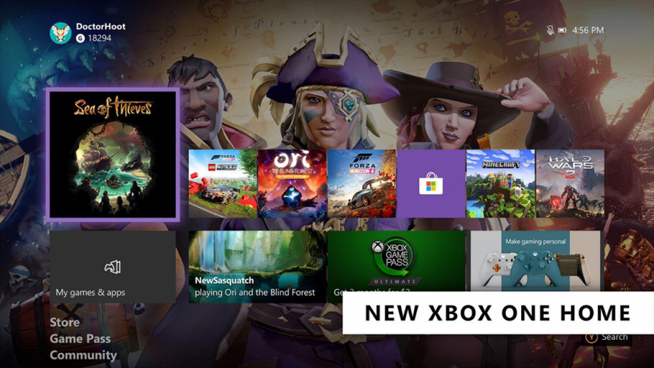 Xbox One: nuova dashboard con interfaccia ridisegnata, download disponibile ora