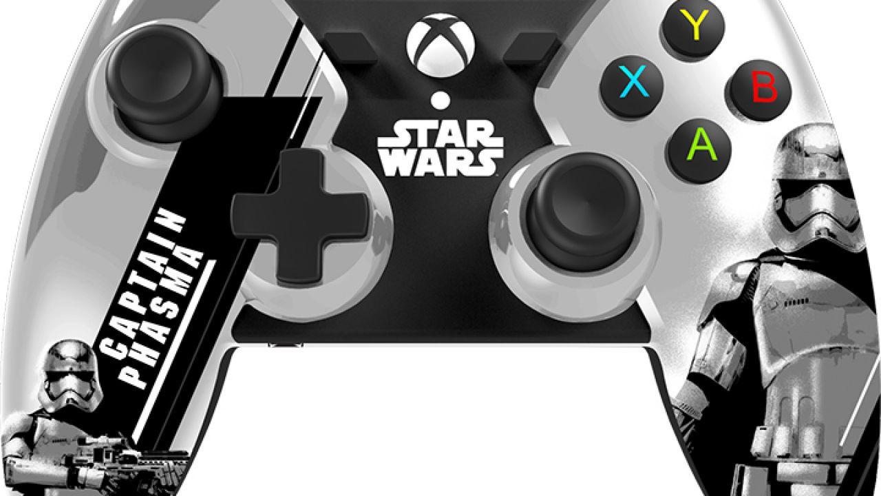 Xbox One: PowerA lancia i nuovi controller dedicati a Star Wars Il Risveglio della Forza