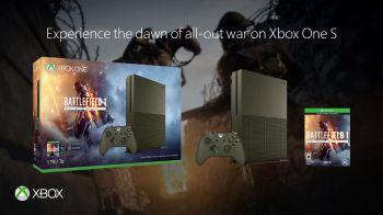 Xbox One S: annunciati nuovi bundle dedicati a Battlefield 1
