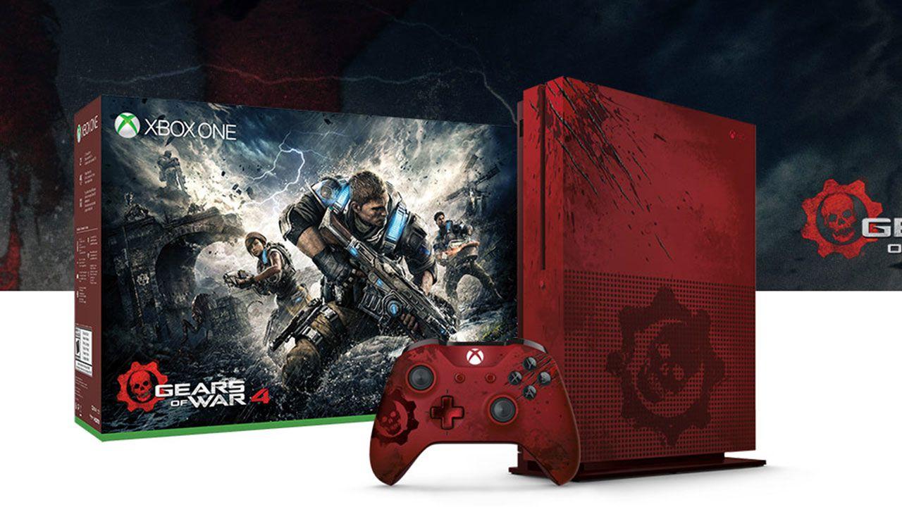 Xbox One S Gears of War Limited Edition da 2 TB sarà disponibile il 6 ottobre