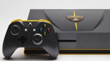 Xbox One S Lamborghini Centenario per promuovere l'uscita di Forza Horizon 3