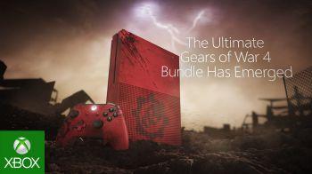 Xbox One S: il trailer ufficiale per il bundle di Gears Of War 4