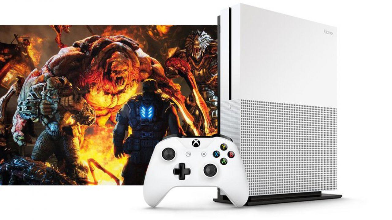 Xbox One Slim con hard disk da 2 Terabyte e supporto video 4K