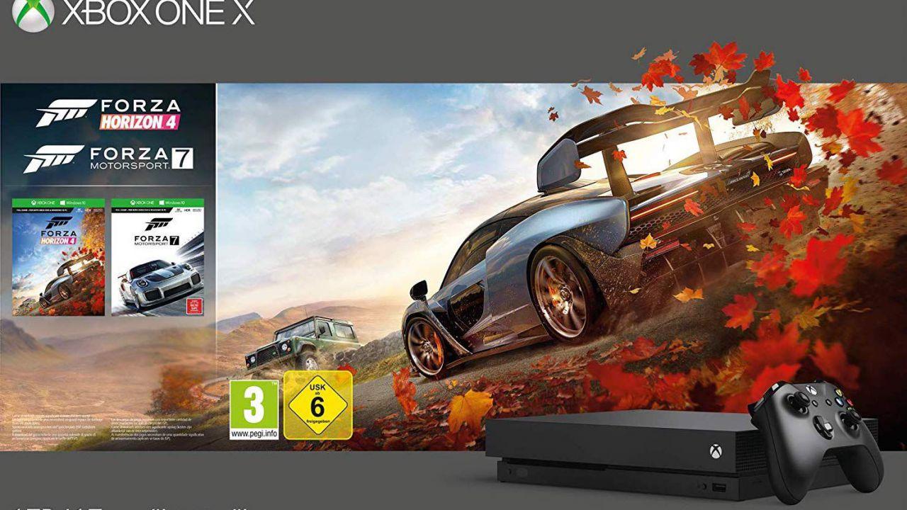 Xbox One X in offerta su Amazon per il Cyber Monday!