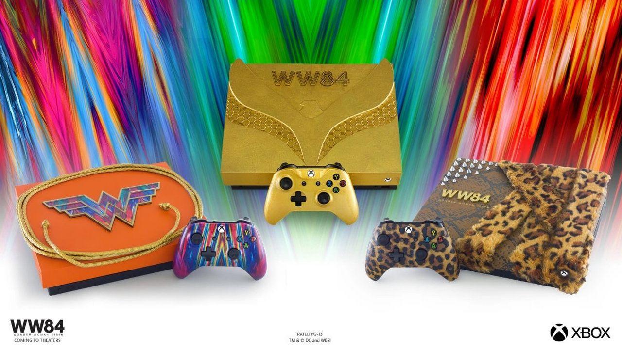 Xbox One X in tre edizioni a tema Wonder Woman 1984: parte l'asta di beneficenza