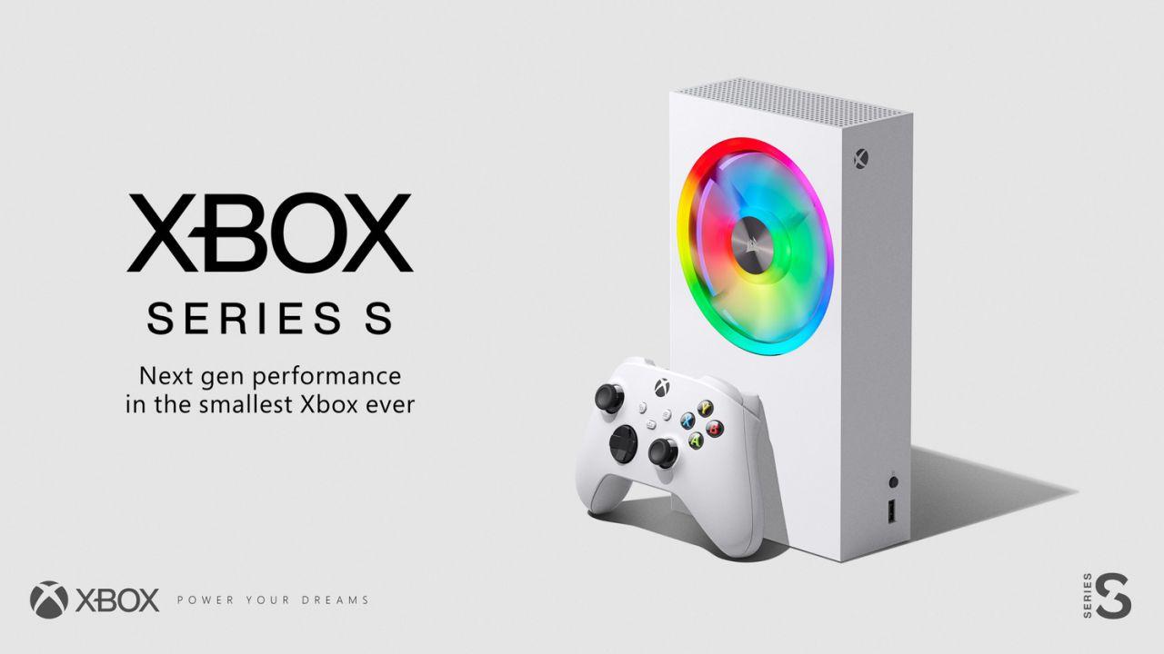 Xbox Series S con ventola RGB? Corsair scherza sul design della console