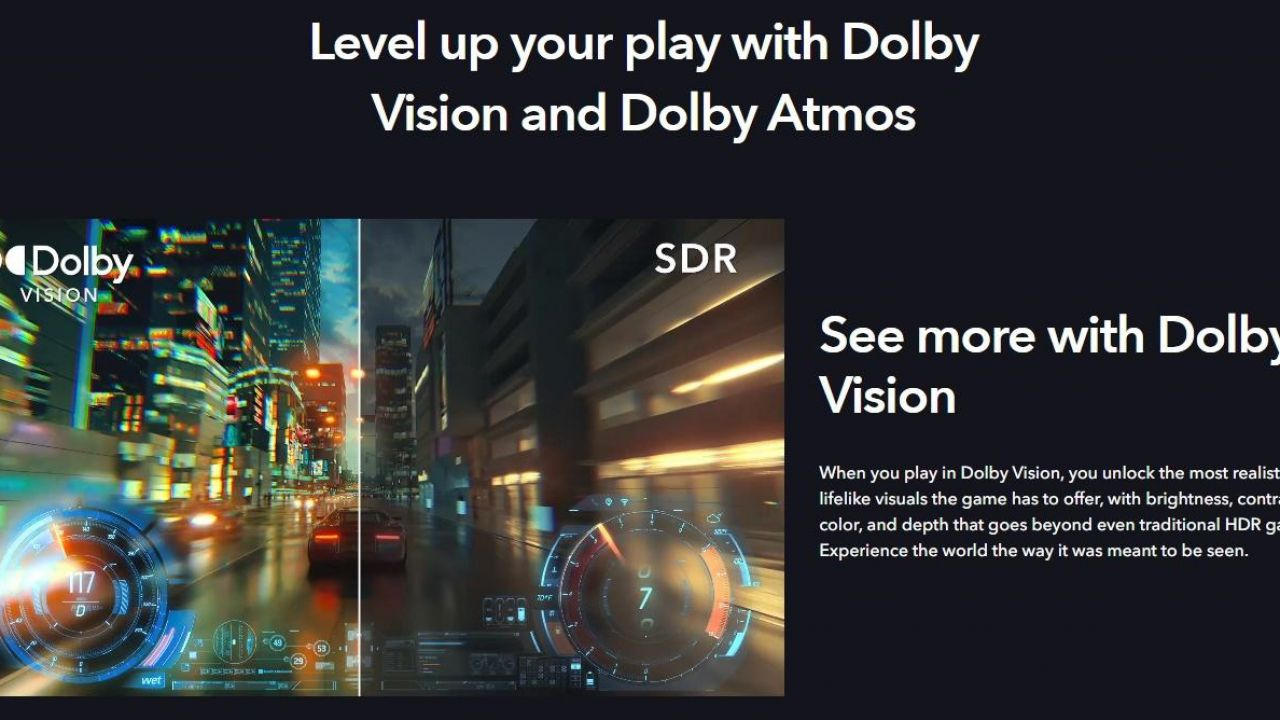 Xbox Series X/S, audio e grafica next gen: le prime console con Dolby Atmos e Vision