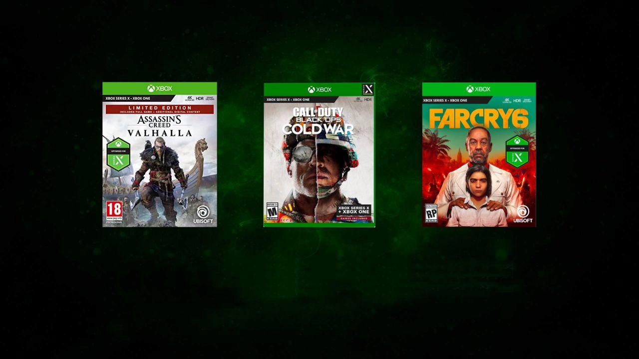 Xbox Series X/S GameStop: prenota i migliori giochi da NBA 2K21 a COD Black Ops Cold War