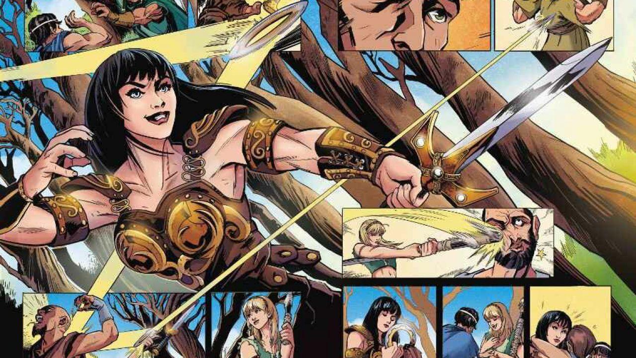 Xena: principessa guerriera in arrivo una serie a fumetti