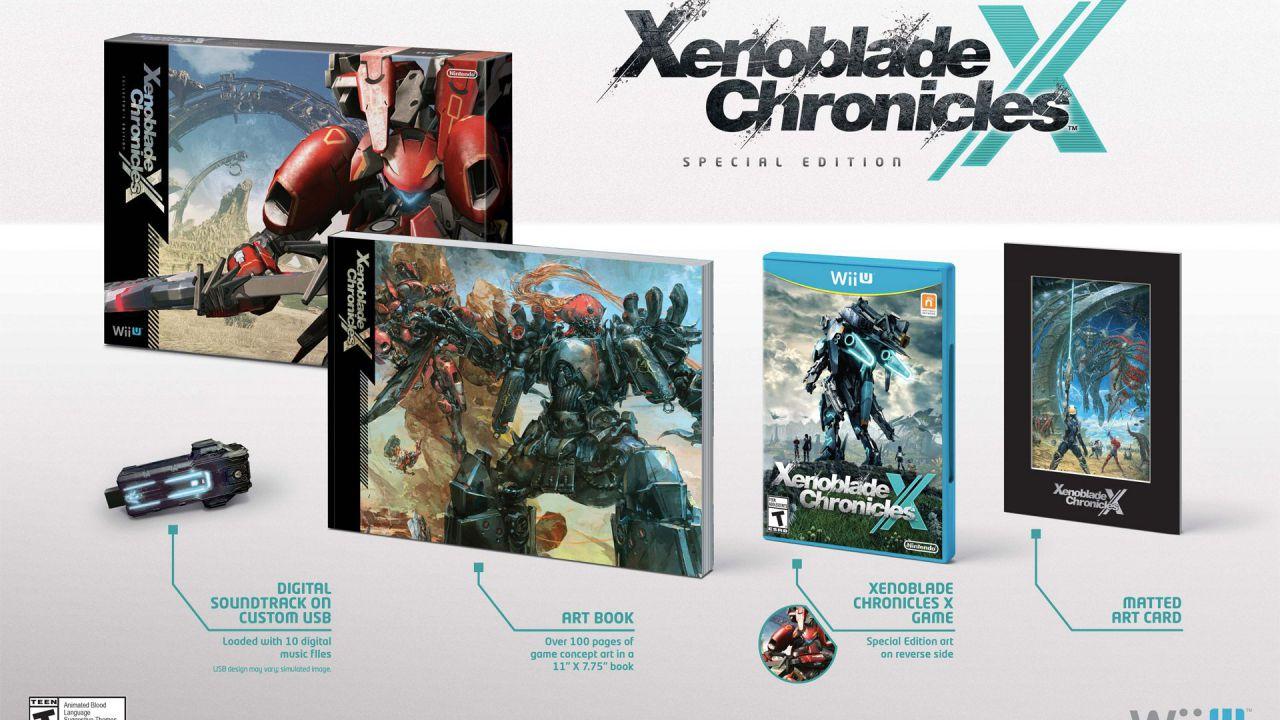Xenoblade Chronicles X: unboxing della Collector's Edition americana