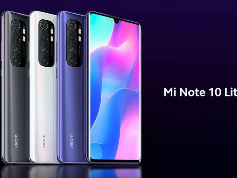 Xiaomi Mi Note 10 Lite arriva in Italia in esclusiva con Vodafone: prezzo ed offerta