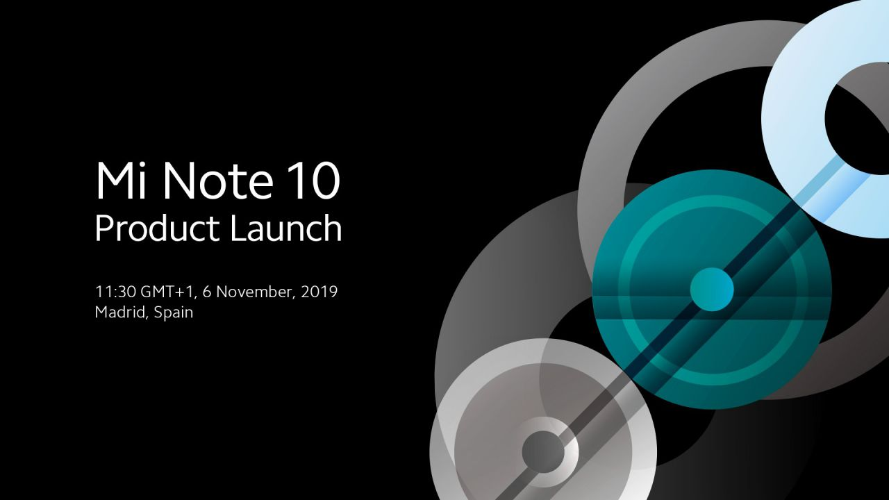 Xiaomi Mi Note 10 sarà presentato il 6 Novembre, ora è ufficiale