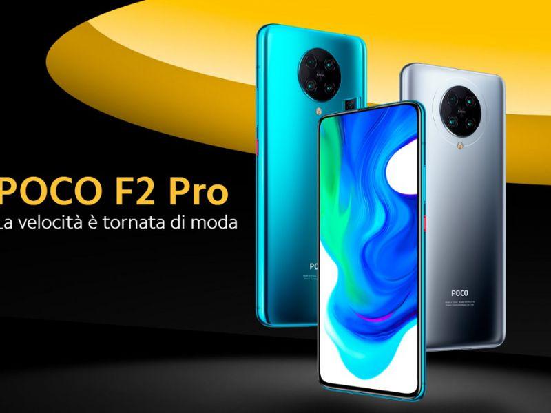 Xiaomi sconta POCO F2 Pro di 100 euro per poche ore; Arriva Mi 10 Lite 5G