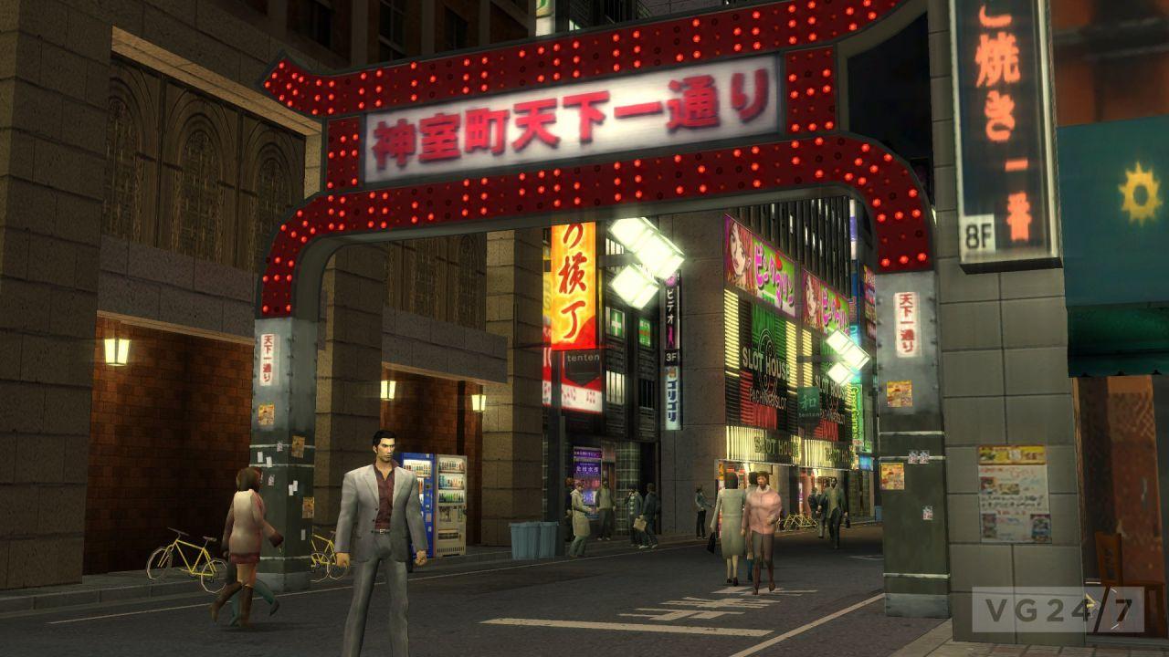 Yakuza 1&2 HD: disponibile la demo sull'eShop Giapponese