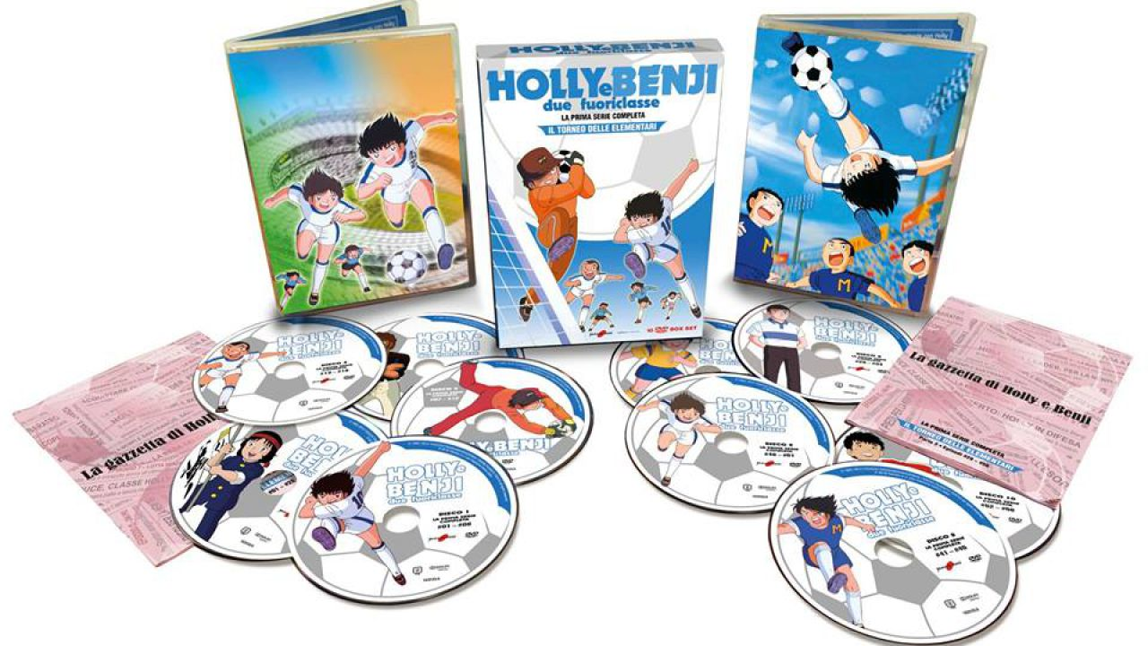 Yamato Video e Koch Media annunciano due box per la serie classica di Holly e Benji!