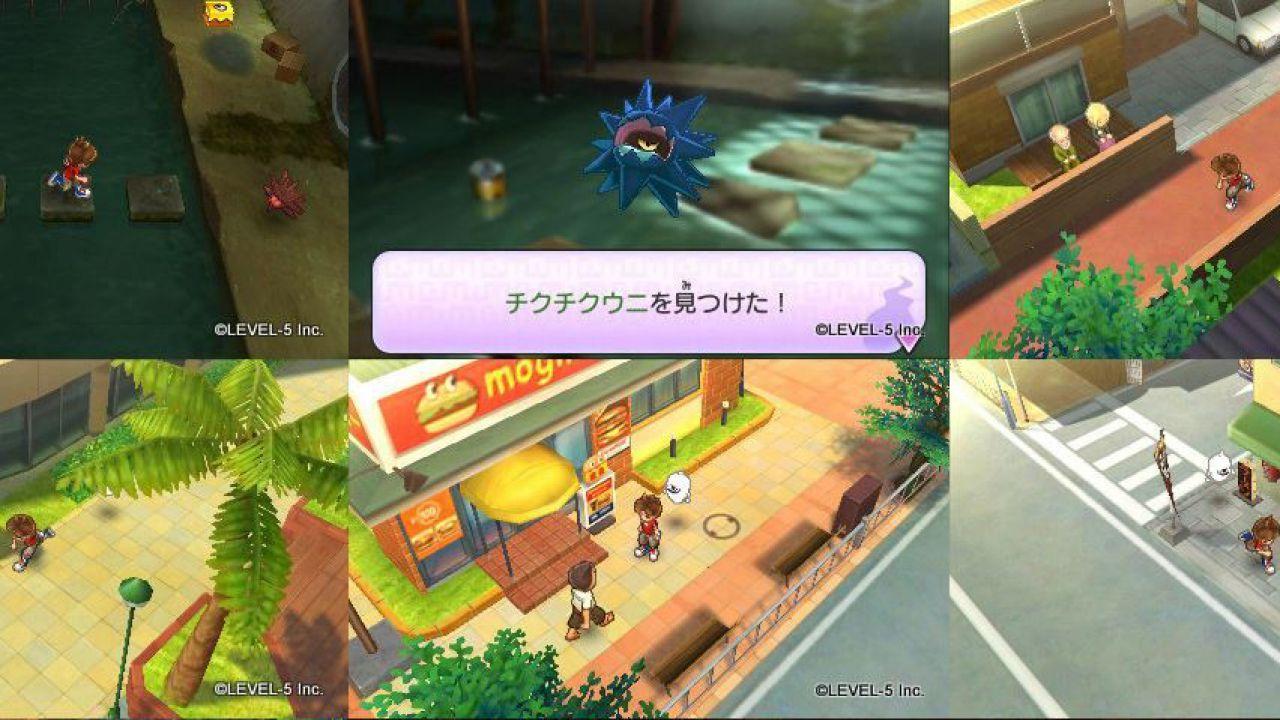Yokai Watch: alcuni video gameplay
