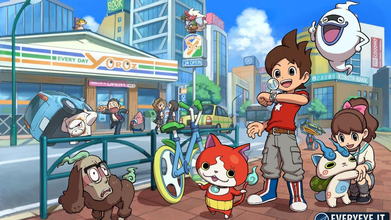 Yokai Watch: distribuite 500.000 copie in Giappone