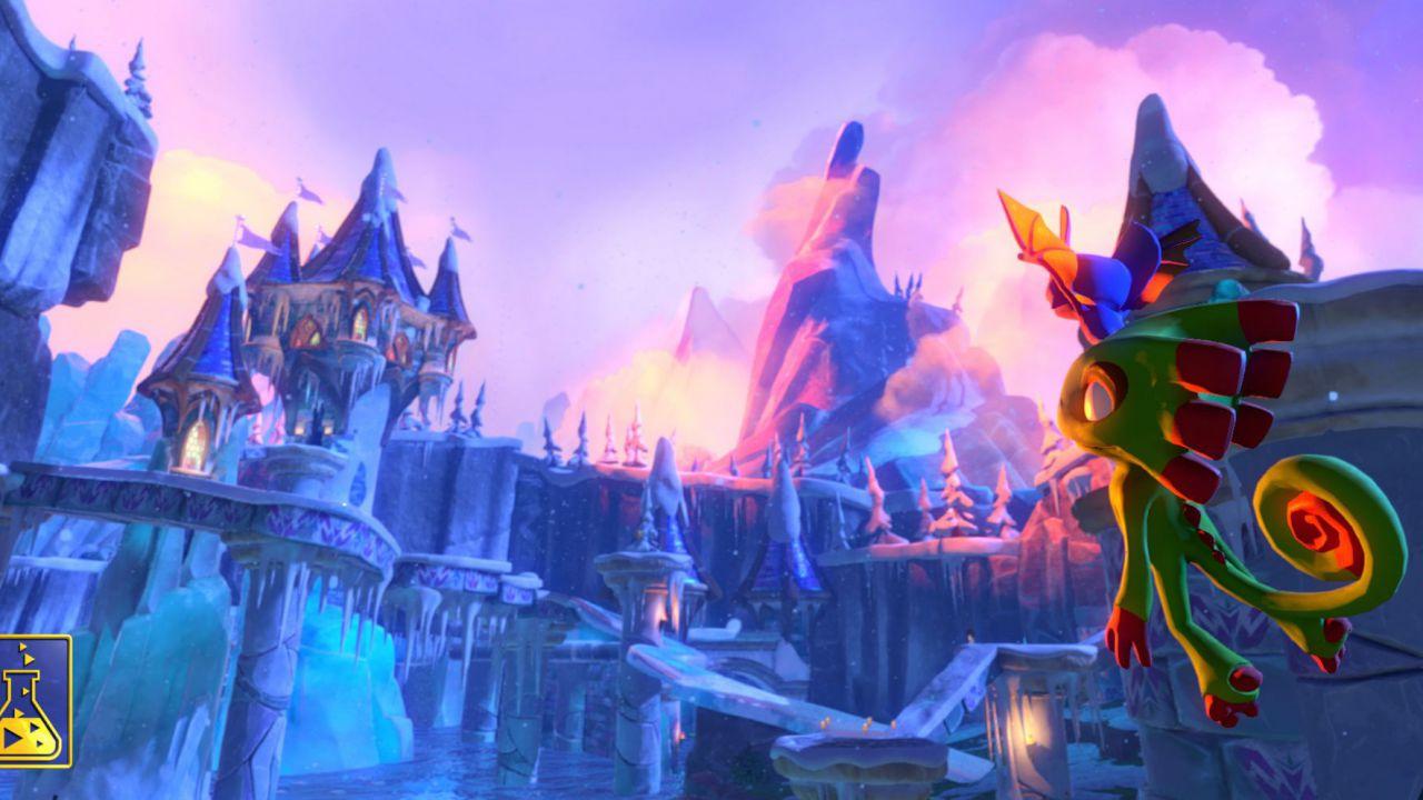 Yooka-Laylee: nuovo video gameplay e traler di presentazione di Shovel Knight