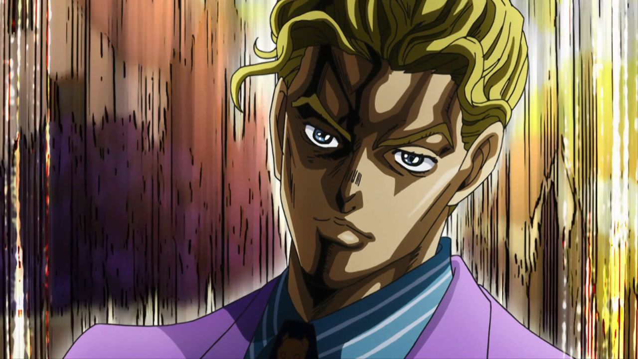 Yoshikage Kira, personaggio di Diamond is Unbreakable, diventa David Bowie in una fan art
