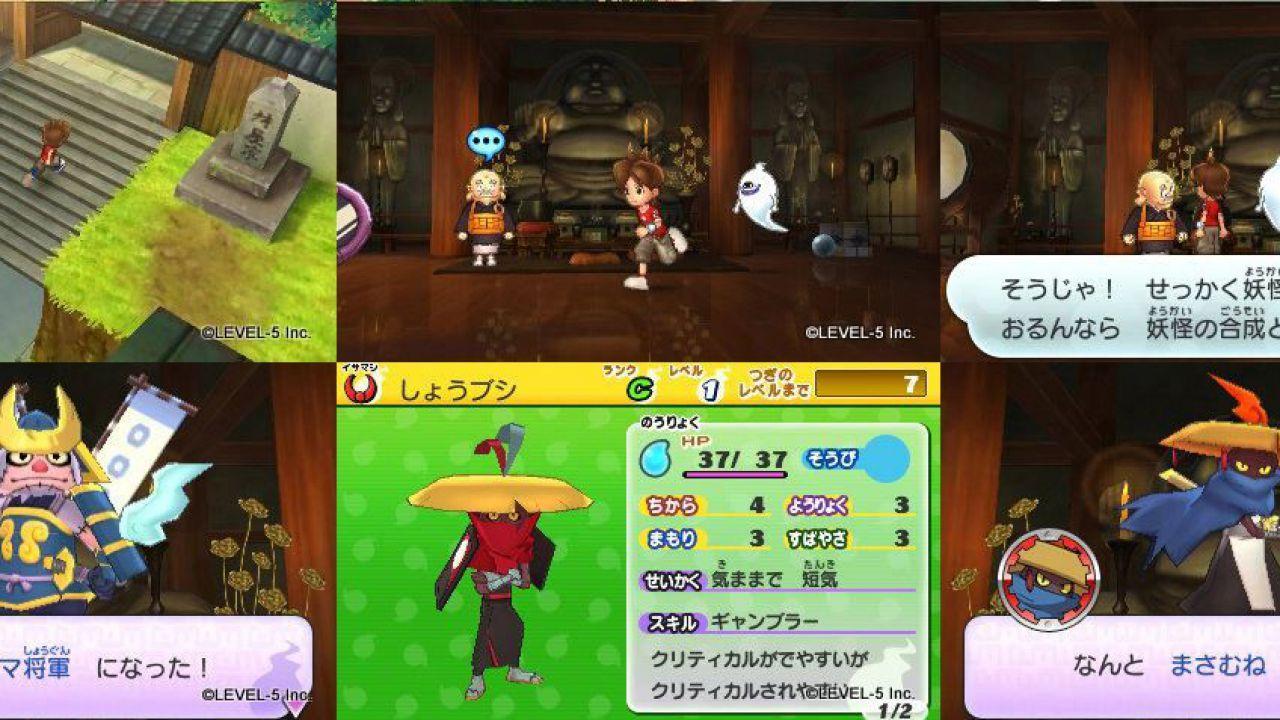 Youkai Watch 3 e Youkai Watch Busters sono in fase di sviluppo