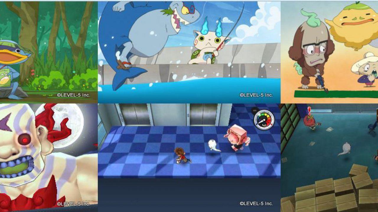 Youkai Watch si mostra in nuovi artwork e immagini