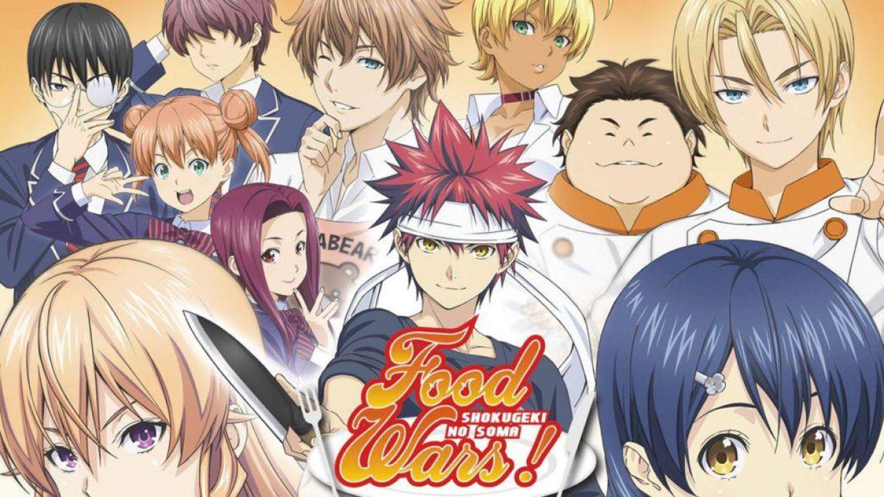 Yukihira Soma e compagni tornano in primavera, svelata la data di uscita di Food Wars 5