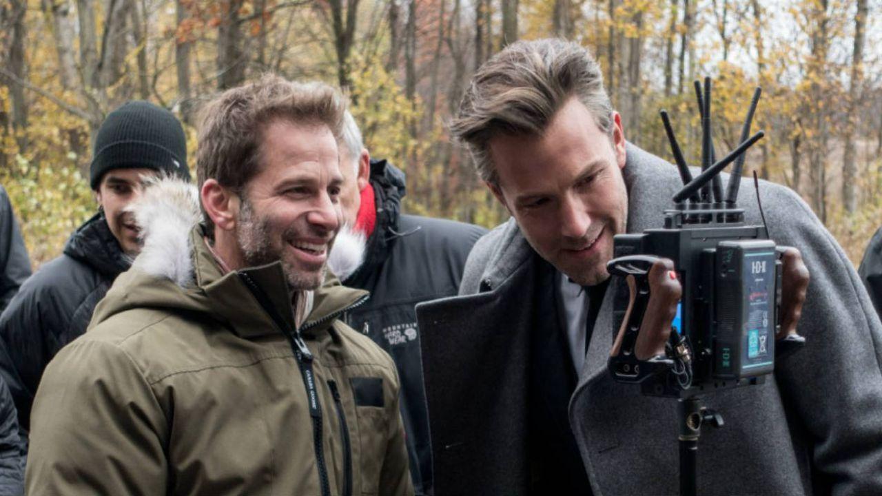 Zack Snyder arriva sul set di Justice League per le riprese aggiuntive: la foto!