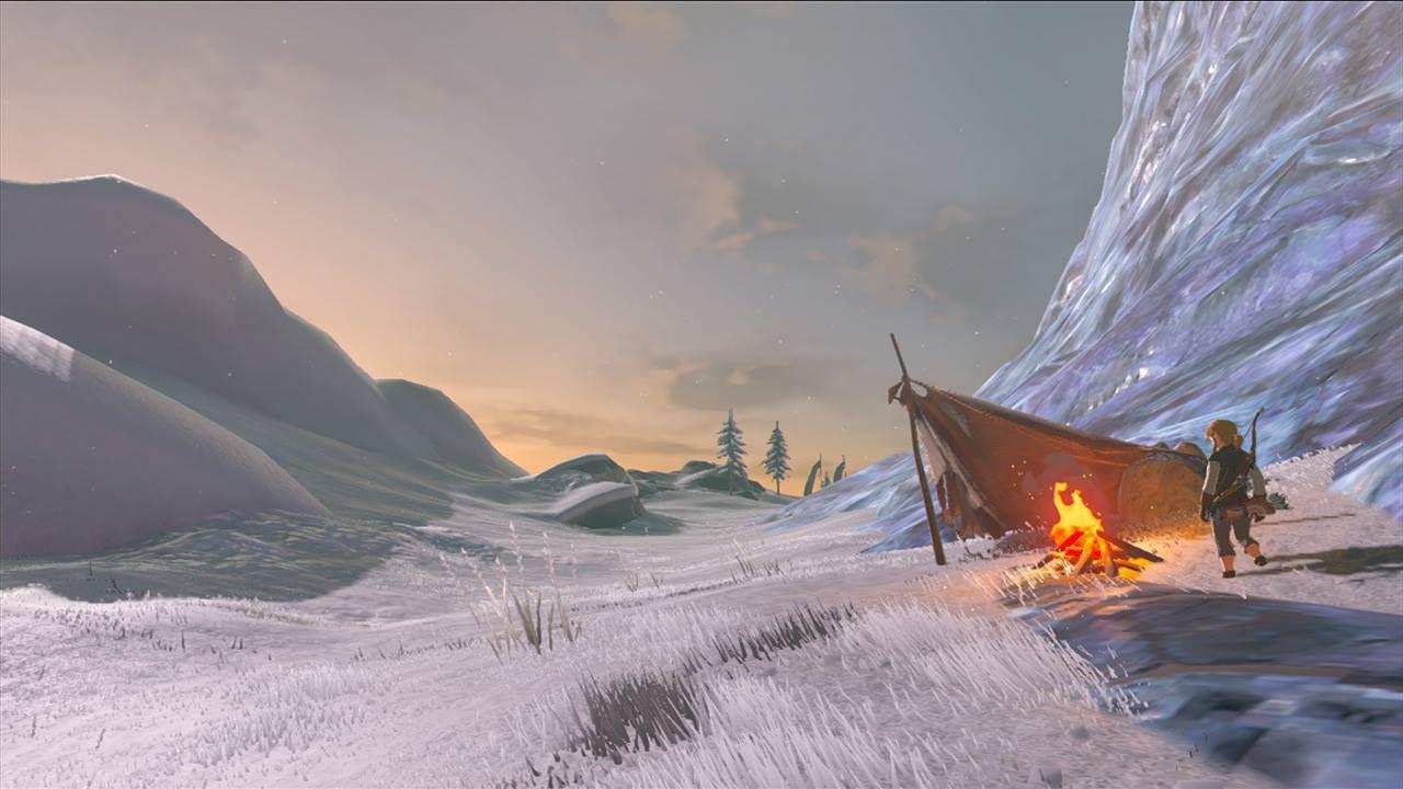 Zelda Breath Of The Wild Come Accendere Il Fuoco E Tenere Link Al Caldo