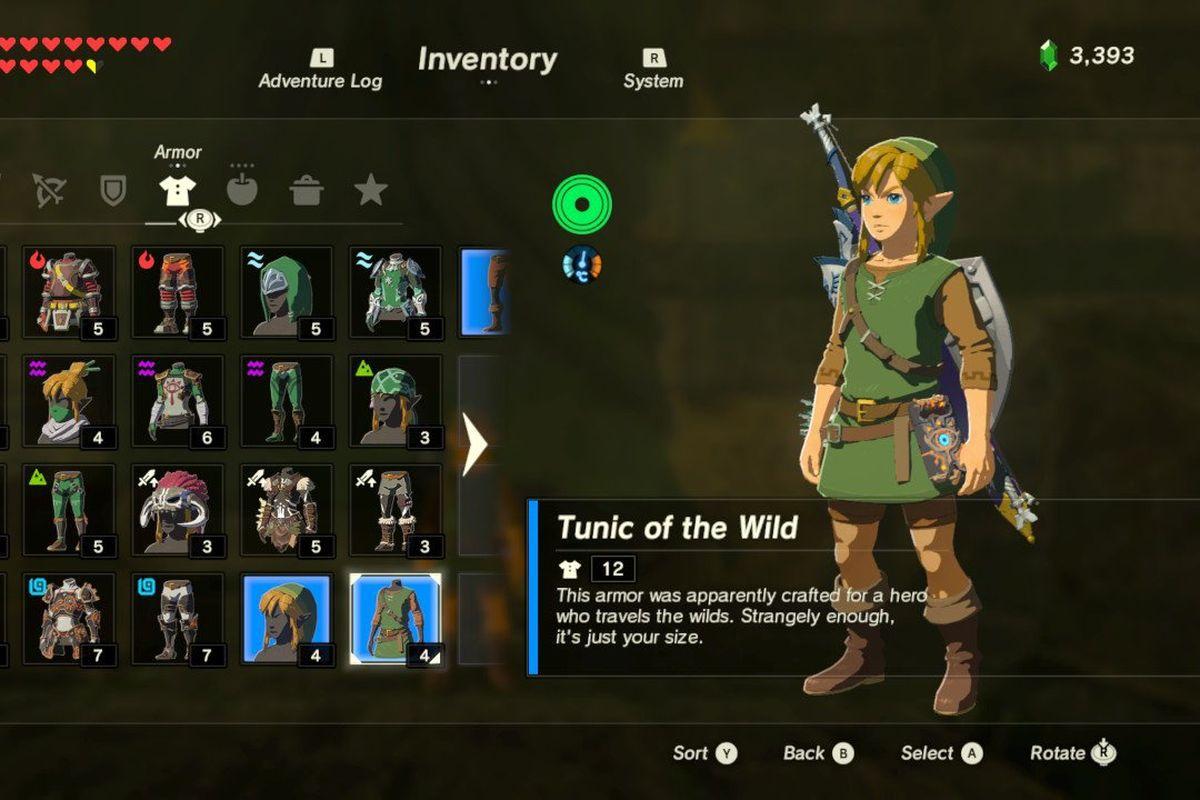Zelda Breath Of The Wild Come Ottenere La Tunica Verde Di Link
