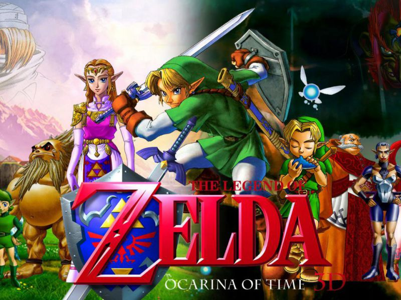 Zelda Ocarina of Time, a demo reveals new background: Link could turn into Navi