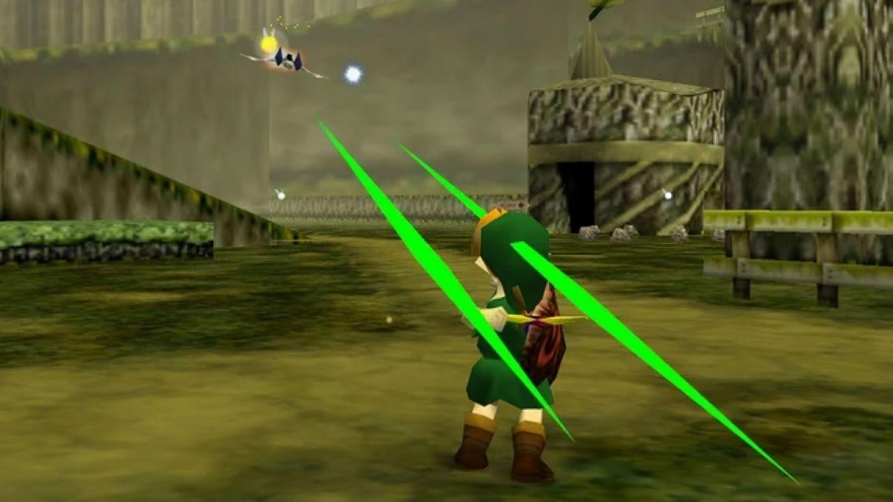 Zelda Ocarina of Time: spuntano le astronavi di Star Fox durante una speedrun!