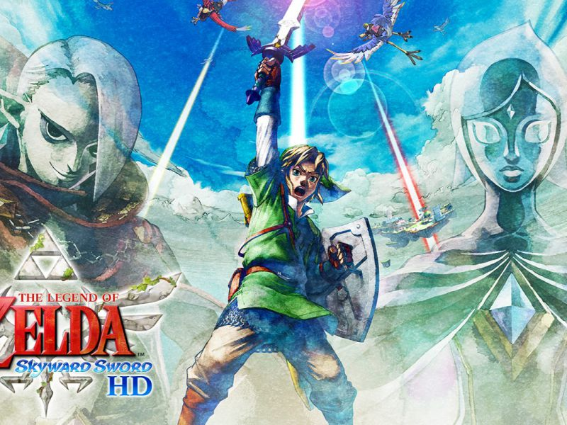 Zelda Skyward Sword HD already a success: record pre-orders on Amazon, out of stocks