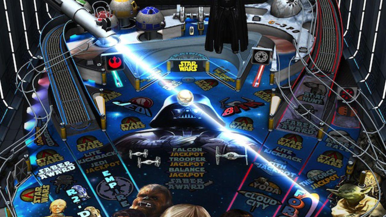 Zen Pinball 2: i tavoli di Star Wars arrivano su WiiU a Luglio