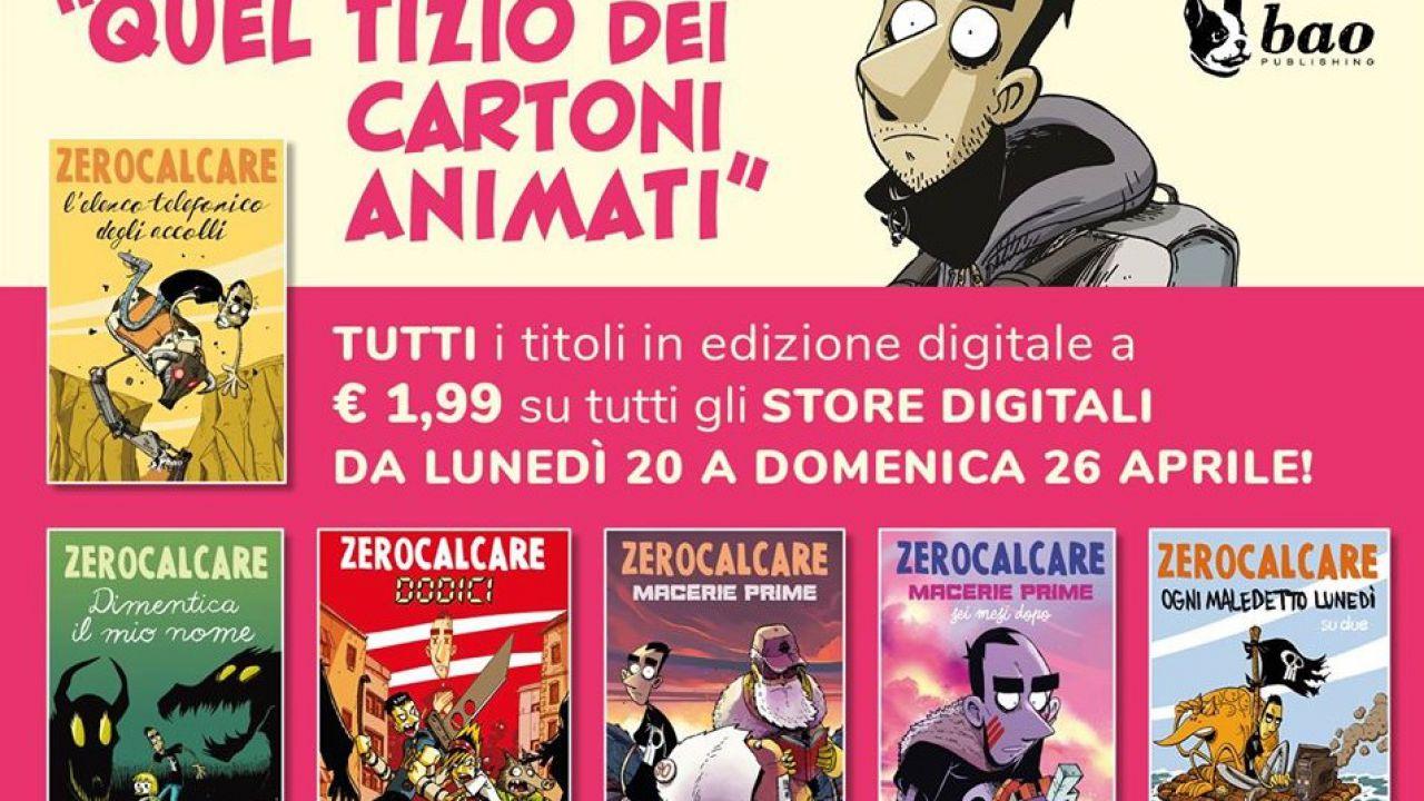 Zerocalcare torna in promozione, tutti i fumetti in digitale a 1,99€