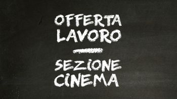 Cerchiamo un nuovo redattore per la sezione Cinema a Roma