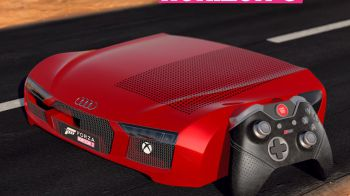 Xbox One S Audi R8 Edition per promuovere il lancio di Forza Horizon 3