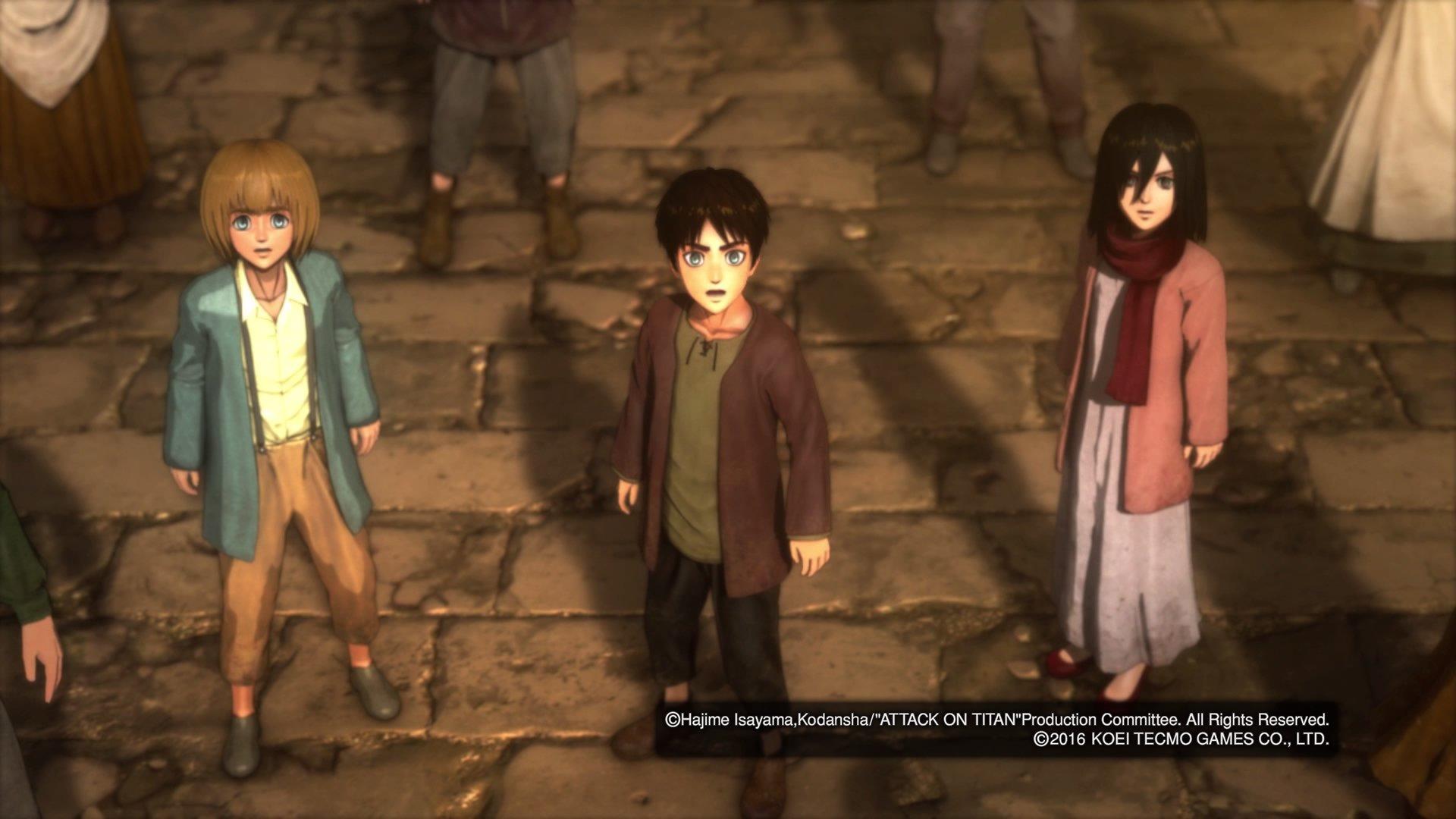 A.O.T. Wings Of Freedom (Xbox One) - Opinione - La lotta per la ...