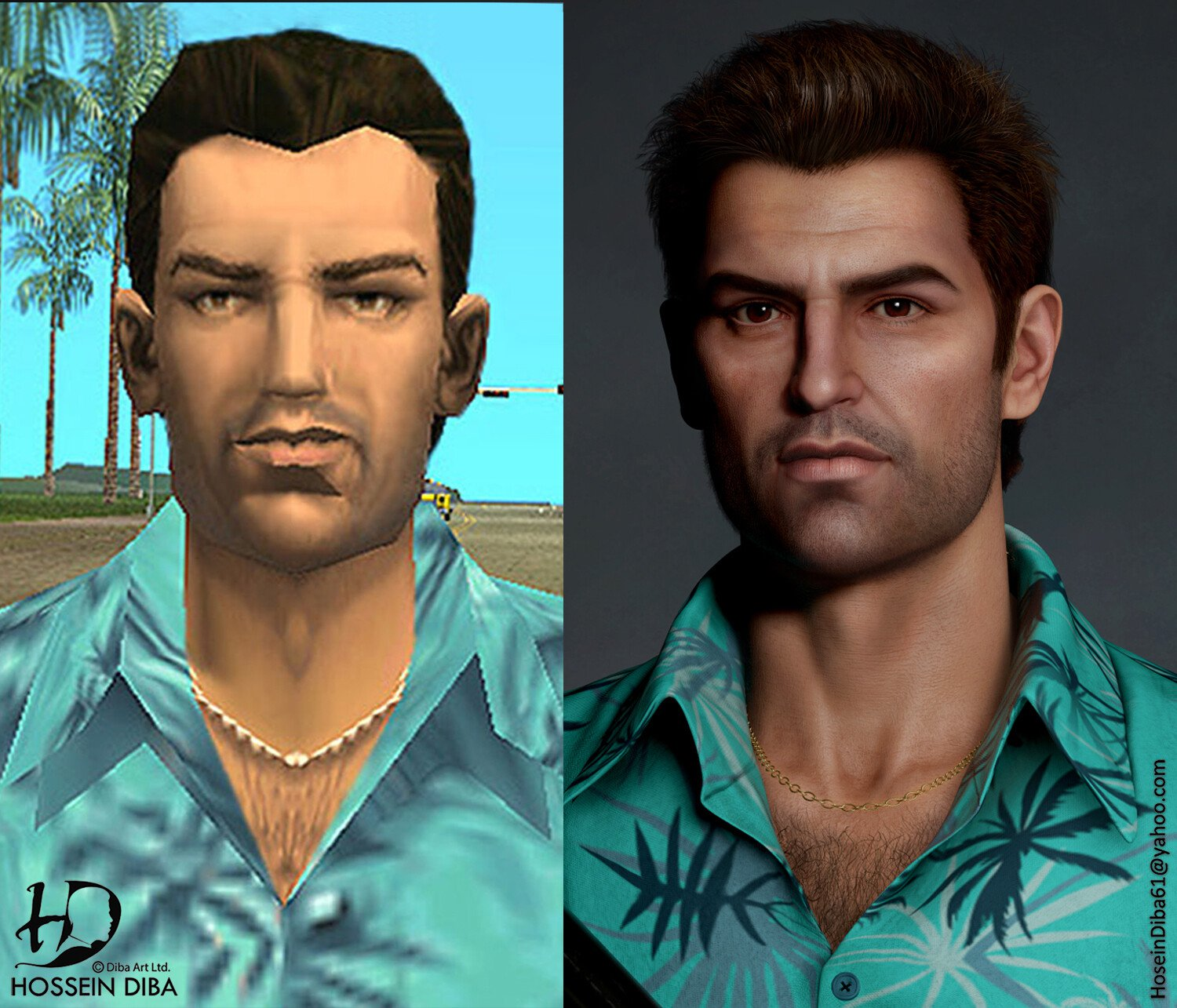 Tommy Vercetti (Grand Theft Auto: Vice City) HD