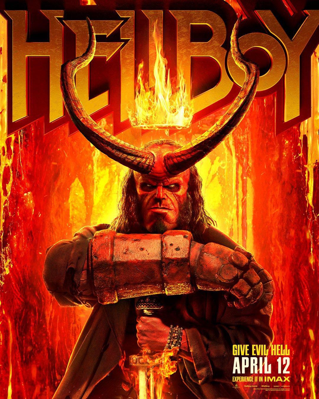 I Nuovi Poster Di Hellboy Anticipano Il Nuovo Trailer In