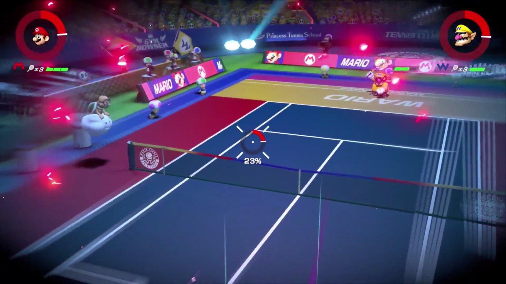 Mario Tennis Aces: annunciata la data d'uscita e molte feature del gioco