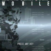 Immagini Metal Gear Solid Mobile