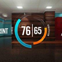 Immagini Nike+ Kinect Training
