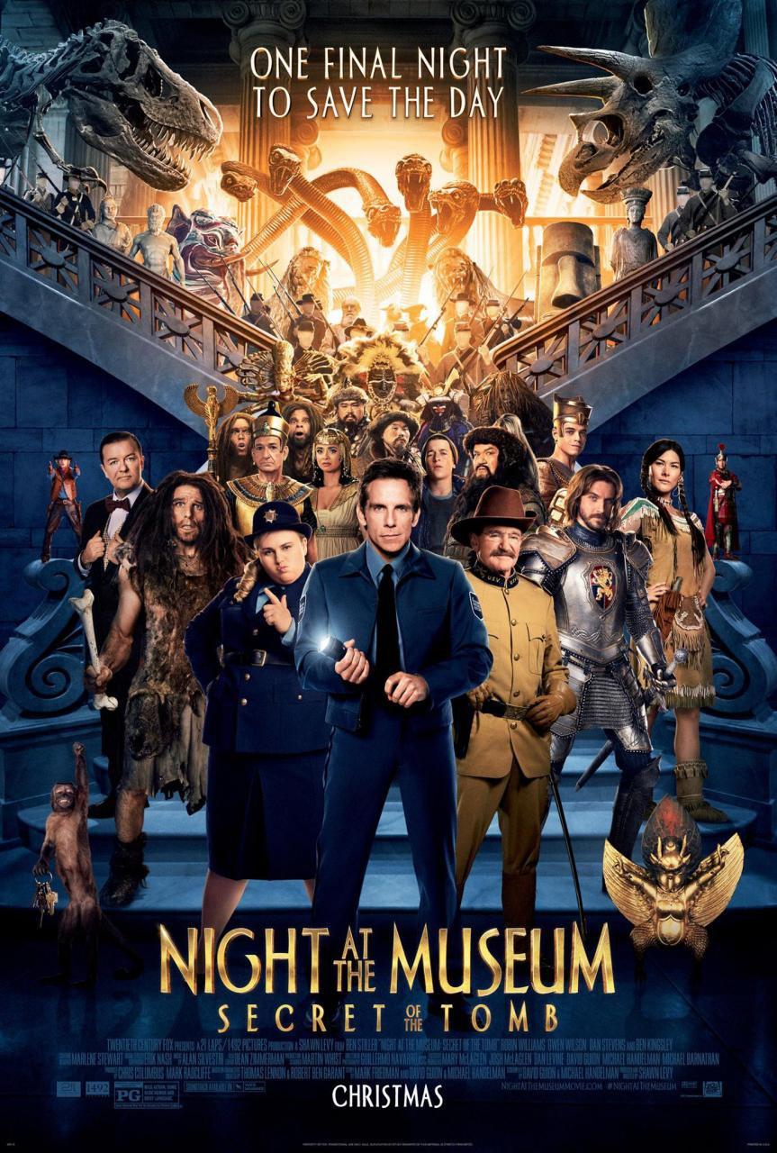 Notte Al Museo Il Segreto Del Faraone Film 2014