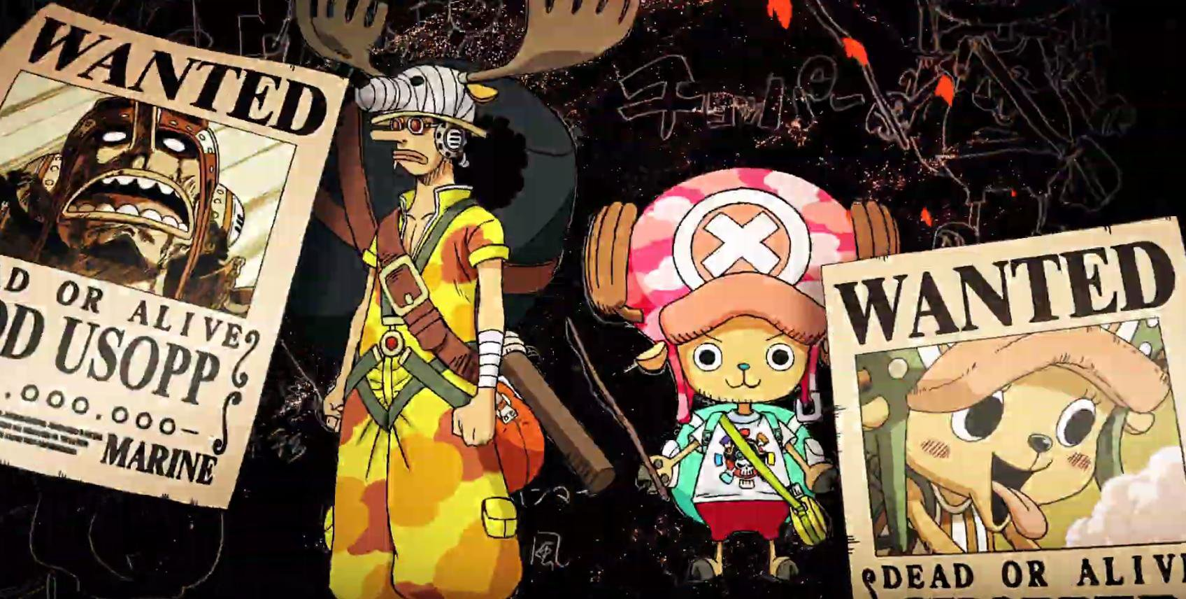 ONE PIECE: STAMPEDE, analisi del nuovo teaser trailer