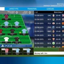 Immagini PlayStation F.C. UEFA Champions League