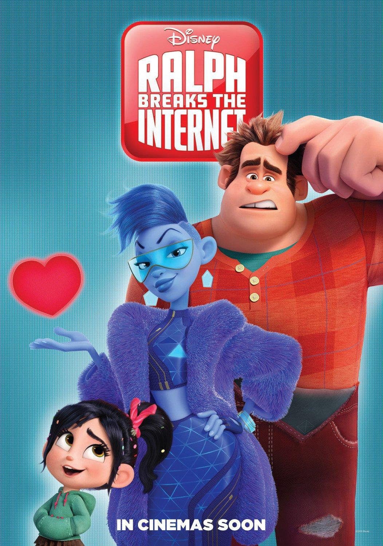 ralph spacca internet dvd  Ralph Spacca Internet: ecco i poster internazionali del sequel Disney